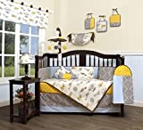 GEENNY Boutique Baby 13 Piece Nursery Crib Bedding Set, New Airplane
