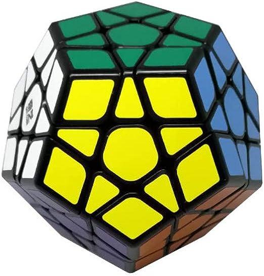 Ludokubo Qiyi Cube dodecaedro Megaminx Qiheng - Negro: Amazon.es: Hogar