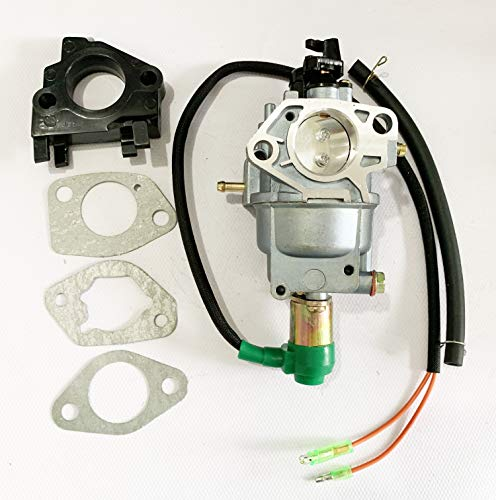 New Generator Carburetor for Harbor Freight Predator Generator 420CC 13HP  69671 68530 68525 8750W with Air Intake Gaskets