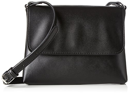 Women's PIECES Black Pcrosetta Small Body H x T cm Bag Cross Cross Body B Schwarz 1x16x22 Iw4Rwq