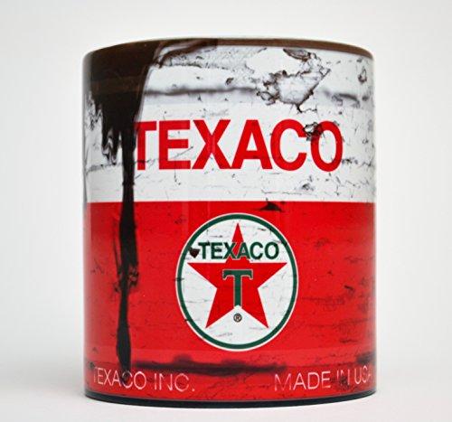 Texaco oil can #2 Inspired Gift Motorcycle Car Mechanic Gift 10oz Tea m