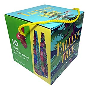 The Tallest Tree Cardboard Nesting Stacking Blocks