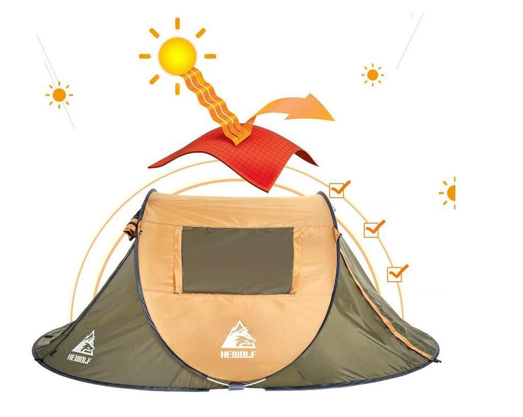 Jkl000 Outdoor-Campingzelt, 2-3 Personen 4-5 4-5 4-5 Personen, 190T Polyestertuch, 1 Sekunde Offen, Automatisch,Sonnencreme, Wasserdicht, Geeignet für Picknick-Strandpark-Rasenfläche B07P8Q6V78 Kuppelzelte Günstige Bestellung 3b0152