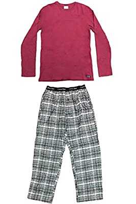 Calvin Klein Pajama Set (Long Sleeve Shirt - Pants)