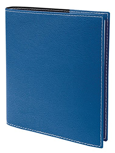 Quo Vadis Executive Club Diary Weekly Academic Year Seven 2018-201916x 16cm Blue