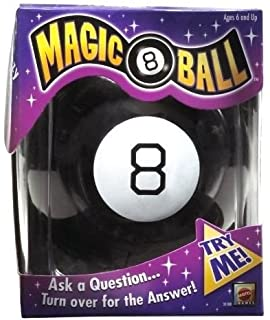 Mattel 30188 Magic 8 Ball Fortune Telling Teller Original Game New 36b1751f4