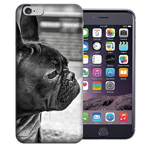 MUNDAZE for Apple iPhone 6s & iPhone 6 4.7 Inch UV Printed Design Case - French Bulldog Design TPU Gel Case Cover