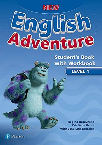 New English Adventure Student's Book Pack Level 1: Student's Book With Workbook
