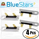 3392519 whirlpool - 3392519 Dryer Thermal Fuse Replacement part by Blue Stars - Exact Fit for Whirlpool & Kenmore Dryers - PACK OF 4