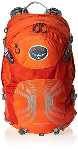 Osprey Packs Stratos 24 Backpack (2016 Model), Solar Flare Orange, Small/Medium by Osprey