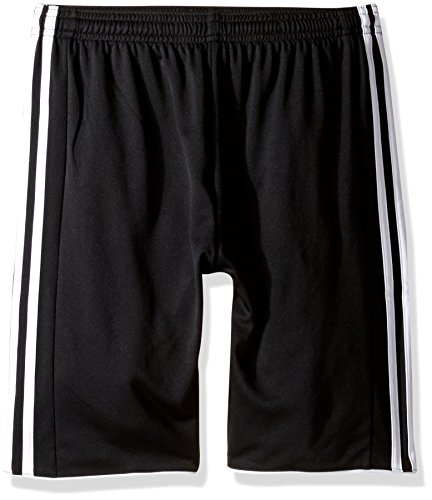 - adidas Youth Soccer Tastigo 17 Shorts, Black/White, Large
