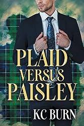 Plaid versus Paisley (Fabric Hearts)