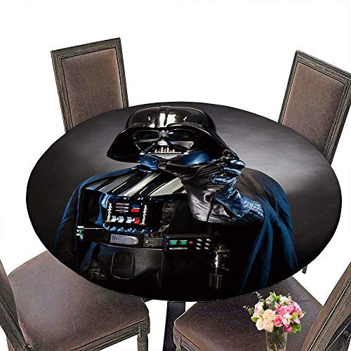 PINAFORE The Round Table Half Lenght Portrait of a D h Vader Costume Replica Black for Birthday Party, Graduation Party 35.5