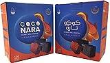 CocoNara New Coconut Premium Lighting Hookah Hookah Charcoal Coals, 240 Piece