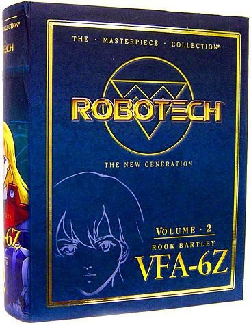 Robotech The New Generation Masterpiece Collection Alpha Fighter Vol. 2 - Rook Bartley (Robotech Masterpiece)