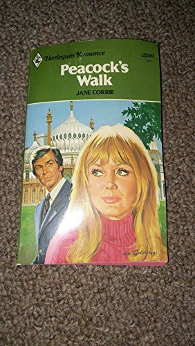 book cover of Peacocks Walk