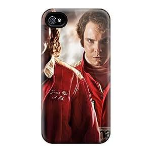 New Tpu Hard Case Premium Iphone 4/4s Skin Case Cover(rush Movie)