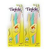 #5: Tinkle Eyebrow Razor Pack of 6