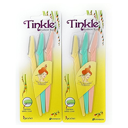 Tinkle Eyebrow Razor Pack of 6 (Amazon Deals)