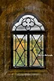 Castle Window in Autumn, Central Park Photography, New York City Print, NY Art, Manhattan, Living Room, Sizes Available from 5x7 to 20x30.