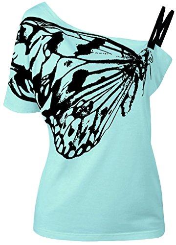OLIPHEE - Camisas - para mujer Azul