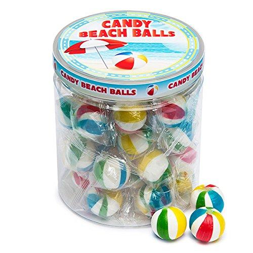 Jumbo Candy Hard (Sassy Spheres Jumbo Beach Balls Hard Candy: 35-Piece Jar)