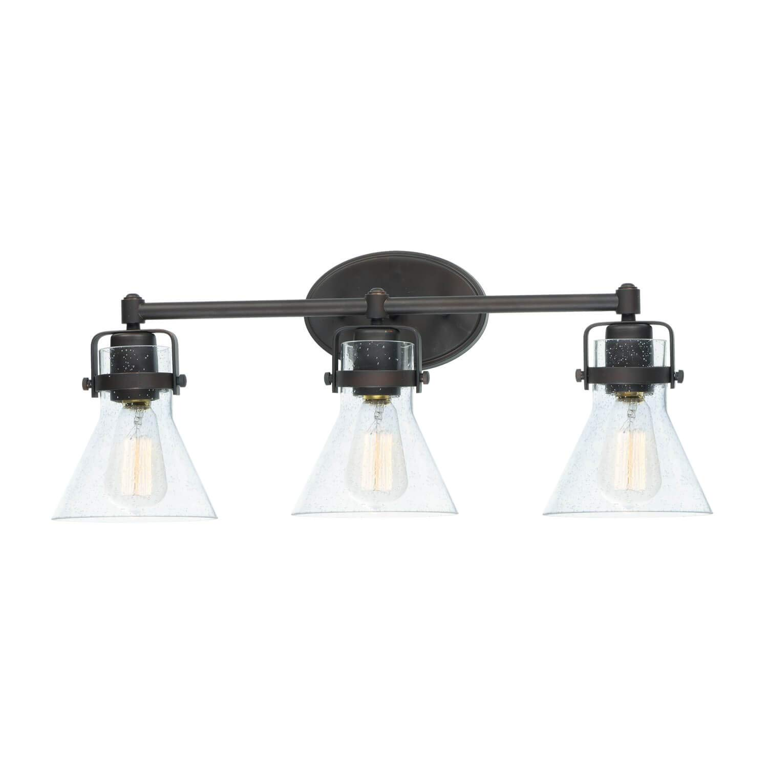 Bidwell Lighting Whiskeytown 24 Wide Vanity Light – Oil Rubbed Bronze