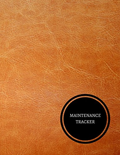 amazon maintenance tracker maintenance log journals for all