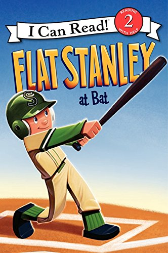(Flat Stanley at Bat (I Can Read Level 2))