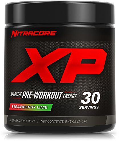Nitracore XP Pre-Workout Supplement, Strawberry Lime, 30 Servings