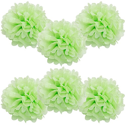 Beach Shamrock Ball (WYZworks Set of 6 - LIGHT APPLE GREEN 8