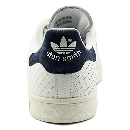 Stan Womens Blanco Trainers marino Adidas azul Smith Leather Z7dwxqF