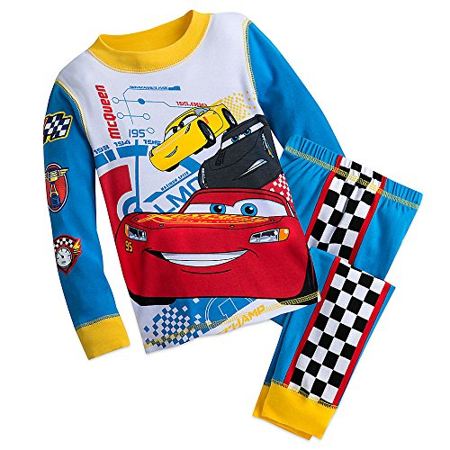 Disney Cars Costumes (Disney Cars 3 PJ PALS Pajama Set for Boys Size 5)