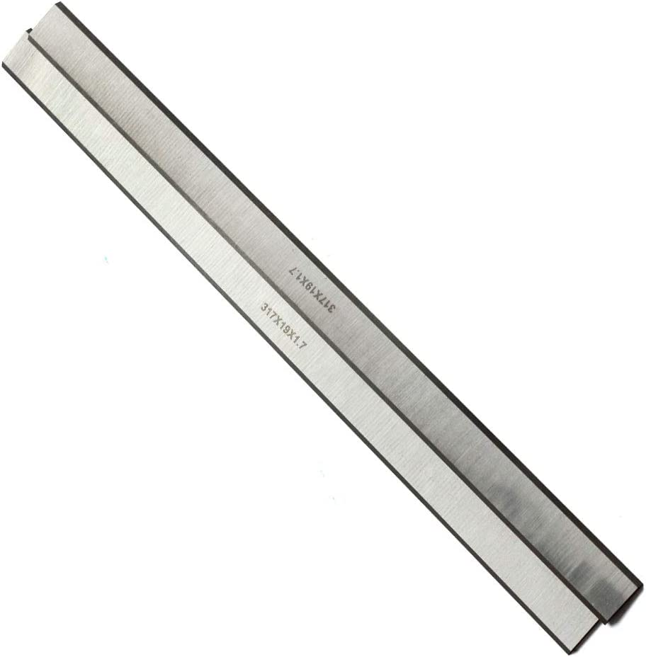 Set of 2 planer blades12-1//2-Inch by 3//4-Inch by 1//8-Inch HSS Planer Knives