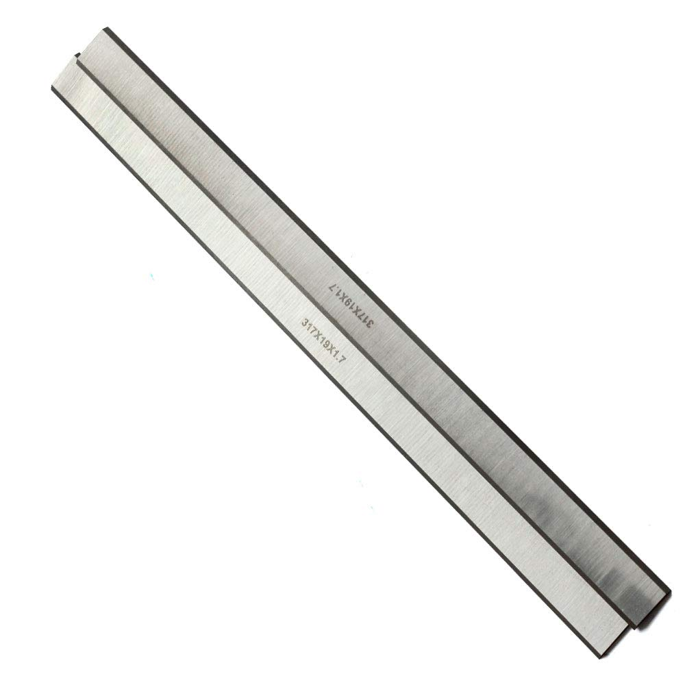 Planer Blades 12-1/2 Inch JESTUOUS for Delta 22-540,22-547 Reversible HSS Replacement Knives 12-1/2 x 3/4 x 1/16,2pcs