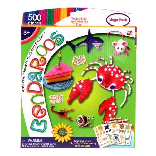Bendaroos Mega Pack 500 Pieces
