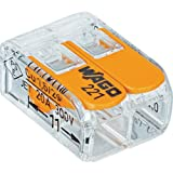 WAGO 221-412 2-Conductor Compact Splicing Connectors (Pack of 100)