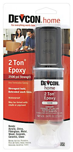 Devcon 31345 2 Ton Clear Epoxy, 25 (Clarity Tile)