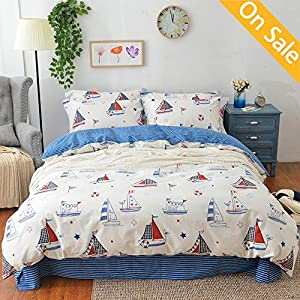 51y5hq3GFZL._SS300_ 100+ Nautical Duvet Covers and Nautical Coverlets For 2020
