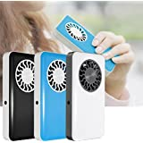 Portable Handheld USB Mini Air Conditioner Cooler Fan With Rechargeable Battery (White)