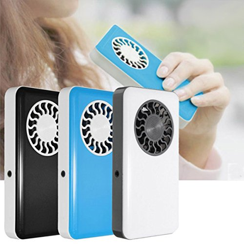 [Portable Handheld USB Mini Air Conditioner Cooler Fan With Rechargeable Battery (White)] (Dummy Costume Diy)