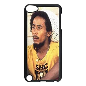J-LV-F Customized Print Bob Marley Pattern Hard Case for iPod Touch 5
