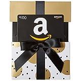 Amazon.ca $100 Gift Card in a Gold Reveal (Classic Black Card Design)