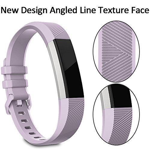 Fitbit Alta HR Bands Fitbit Alta Bands Lavender Large,RedTaro Adjustable Replacement Accessory Bands/Straps/Bracelets for Fitbit Alta HR/Fitbit Alta for Women/Men(no Fitbit Fitness Trackers)