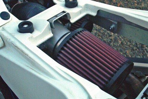 Malone Motorsports VelI-LTR450-1 Suzuki LTR450 Velocity Intake System with K&N Filter by Velocity Intake Systems (Image #2)