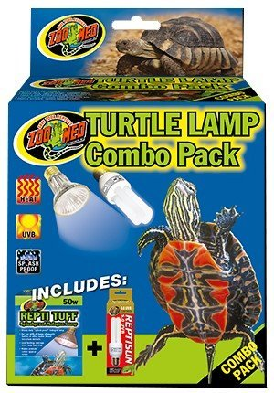 Combo Lamp - Zoo Med Combo Pack Turtle Lamp