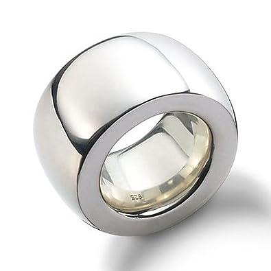 Silber ring  SKIELKA DESIGNSCHMUCK Silberring 15 mm Goldschmiedearbeit ...