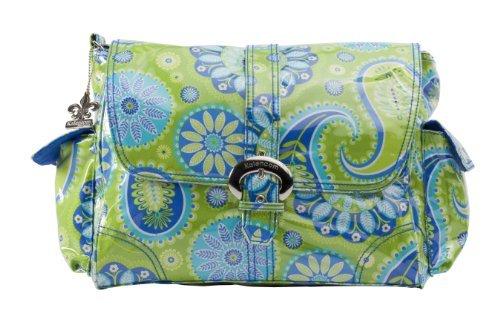 - Kalencom Midi Coated Diaper Buckle Bag, Gypsy Pailsey Green by Kalencom
