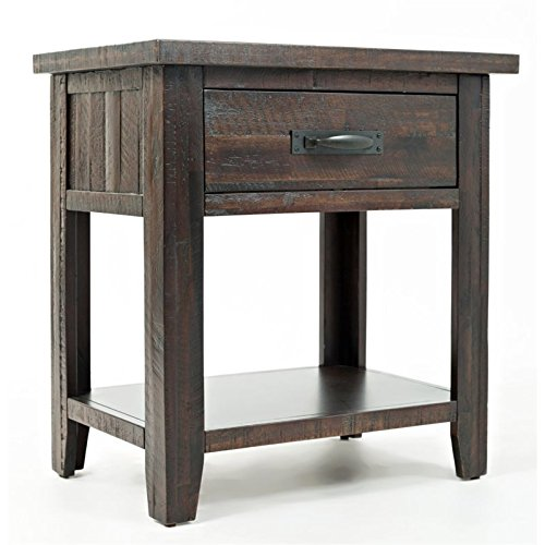 Youth Bedroom Collection Furniture (Jofran: 1605-90, Jackson Lodge, Drawer Nightstand, 24