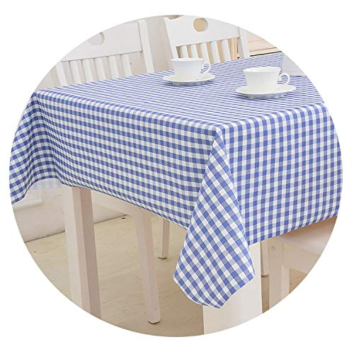 (God of Fortune Oil Cloth Tablecloth Water-Proof Oil-Proof UV Print Hot Stamping Thick Poly Mediterranean Anti Corrosion Furniture Covers,8,90x90cm)